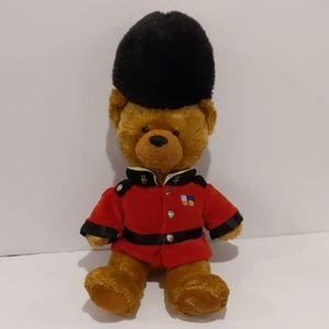 Harrods plush Teddy bear guard 16""